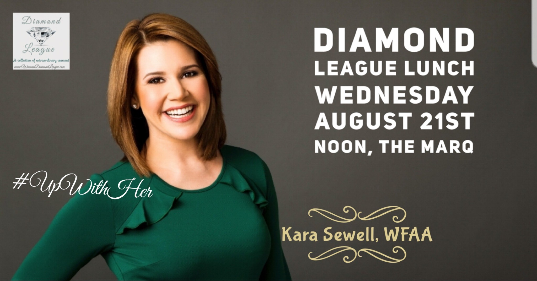 Next luncheon August 21st with Kara Sewell, WFAA – Women's